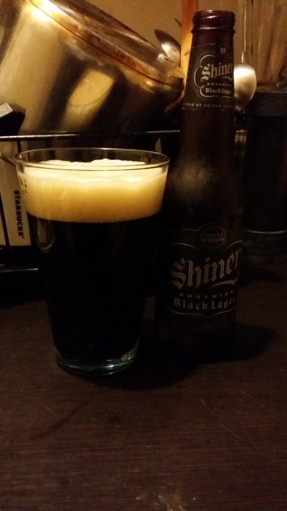 SHINER BOHEMIAN BLACK LAGER.