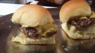 Brindle Room Burger: Dry Aged Buger