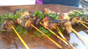 "WOOD GRILLED SPITTED QUAIL ""SPIEDINI"""