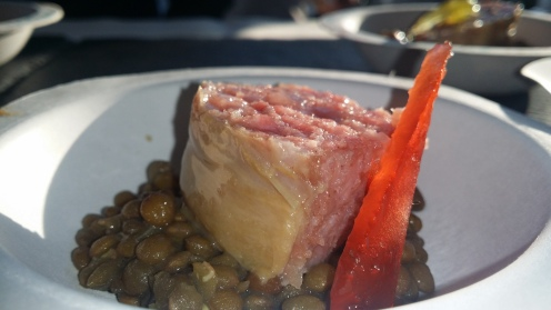 SD26 House-Made Cotechino with Castelluccio Lentils