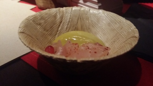 LE CIRQUE Red Snapper Crudo