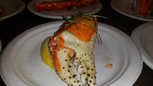 MORIMOTO Spicy King Crab Tobanjan Aioli