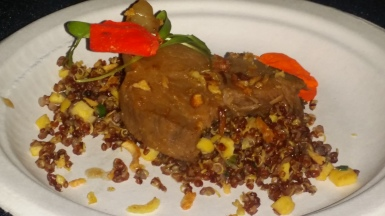 Deleware and Hudson Sour Braised Beef Short Rib