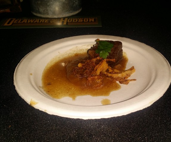 Deleware and Hudson Sour Braised Shortrib