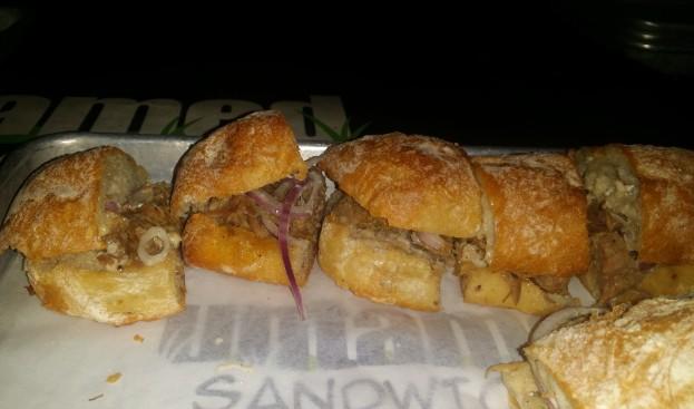 Untamed Sandwich The Hot Goldie Sandwich