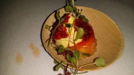 Tuome Crispy Deviled Egg with Chili