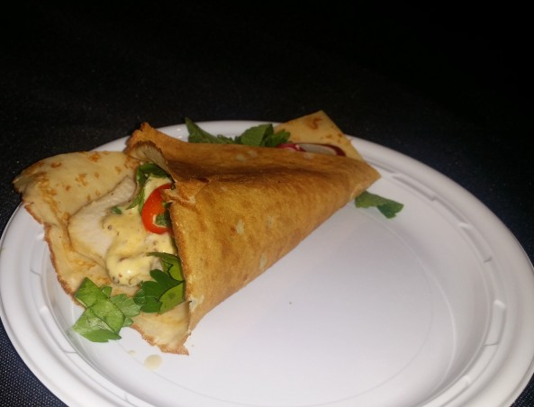Dirty French/ Chicken and Crepes