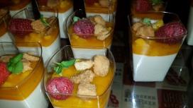 DBDG Kitchen and Bar Lemongrass Panna Cotta
