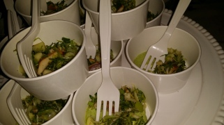 THELMA house smoked trout salad