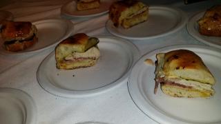 THE COMFORT jewbano sandwich with katz pastrami