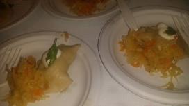 VESELKA potato perogi with sauerkraut