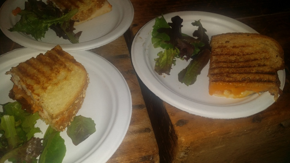 TINY'S GIANT SANDWICH SHOP grilled cheese