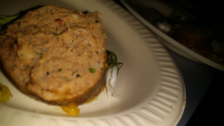 KING BEE duck and farro boudin
