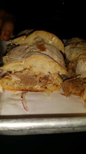 UNTAMED SANDWICHES hot goldie grass fed beef short rib