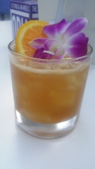 Zacapa Rum Sherry pineapple honey coconut water