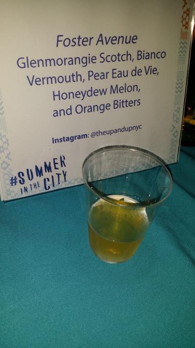 Foster Avenue Scotch Bianco Vermouth Honey Melon Pear Eau de Vie