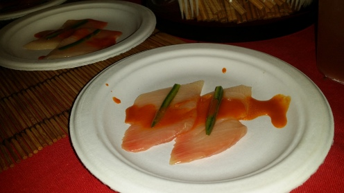 Yellowtail Tiradito with Jalapeño and Lemongrass