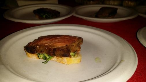 Sliced Strip Steak with Blacha Truffle