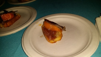 Fresh Apricots with House-Cured Duck Prosciutto