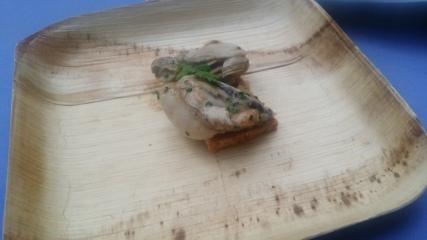 Cia oyster corn bread