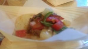 Grand tier restaurant naan taco