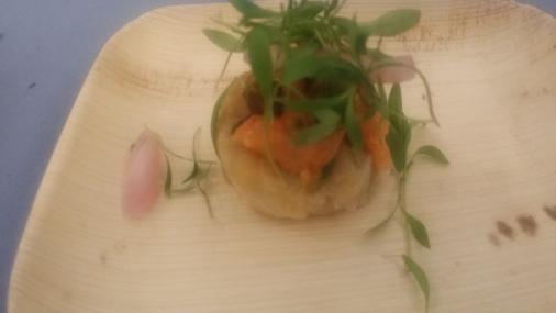 Stampede 66 salmon ceviche