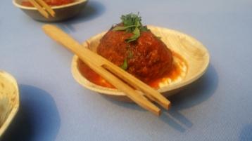 Stella 34 tomato braised veal meatball
