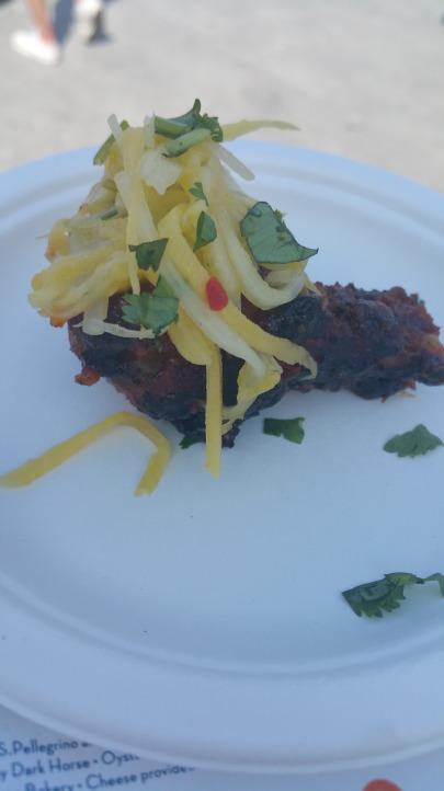 CHEF ROBLE Peri Peri Wings Thai Duck Salad