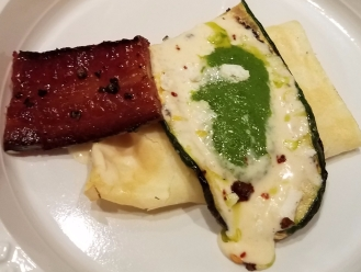 Grilled Zucchini with Chili and Parmesan