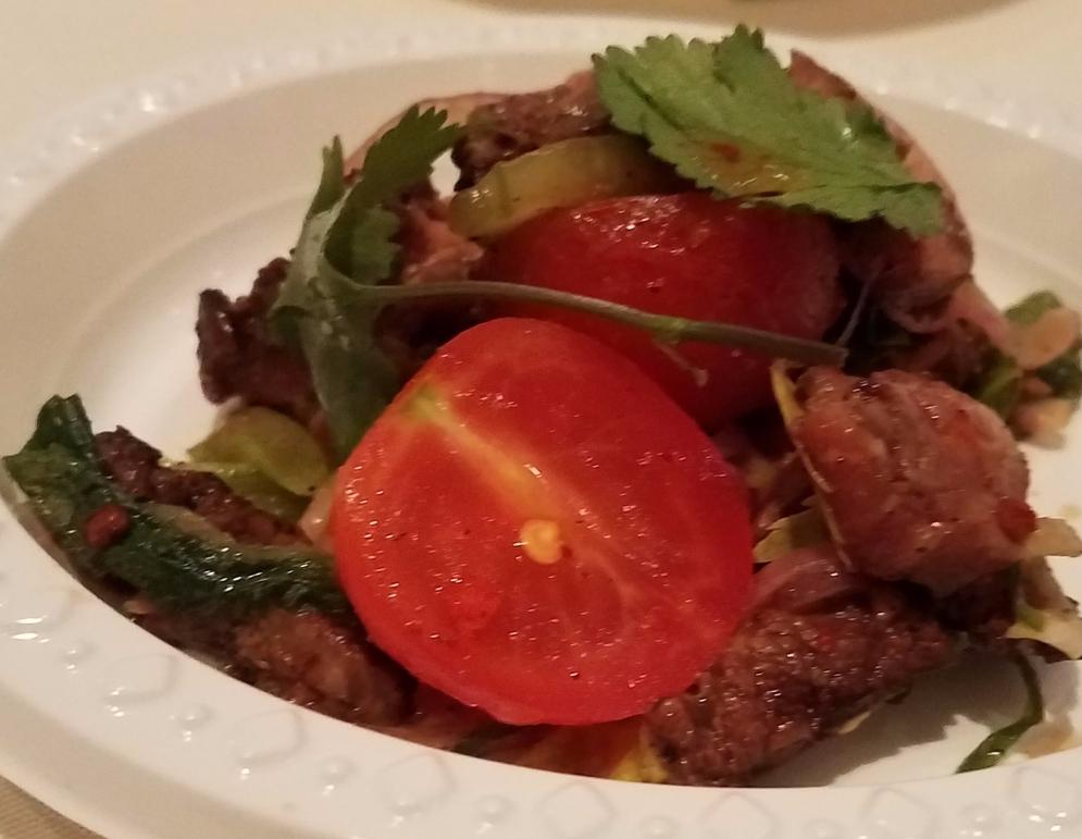 Thai Beef Salad Chang Mai